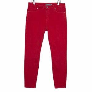 NWOT Stitch Fix Rhea Just USA red skinny jeans